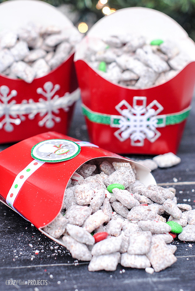 Easy Christmas Candy Recipes For Gifts  Christmas Muddy Bud s Recipe & Gift Idea Crazy Little
