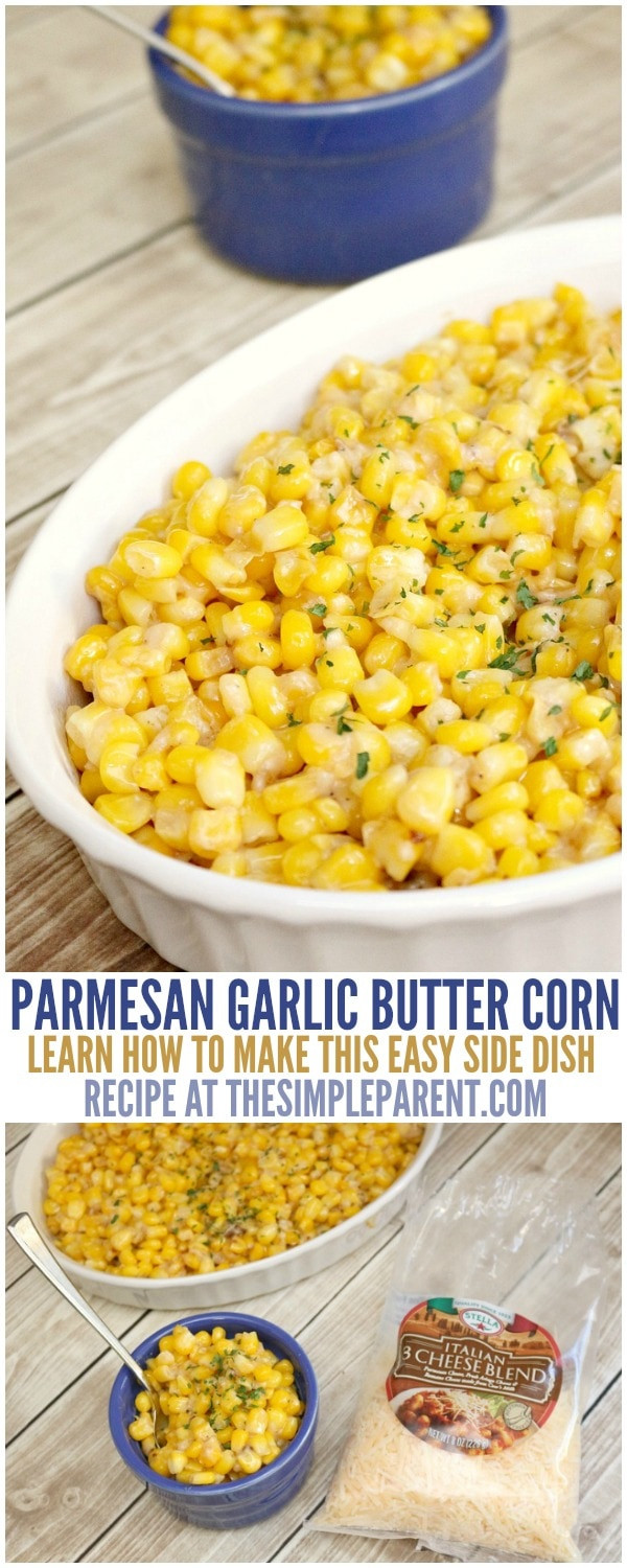 Easy Christmas Dinner Side Dishes  Easy Christmas Side Dishes 5 Ingre nt Parmesan Garlic