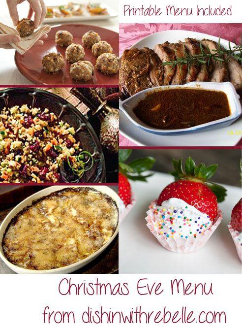 Easy Christmas Eve Dinners  17 Best ideas about Christmas Eve Dinner on Pinterest