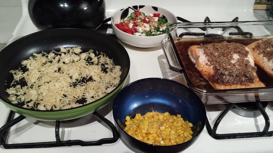 Easy Christmas Eve Dinners  Ozeri Green Earth Ceramic Pan Review The Big Apple Mama