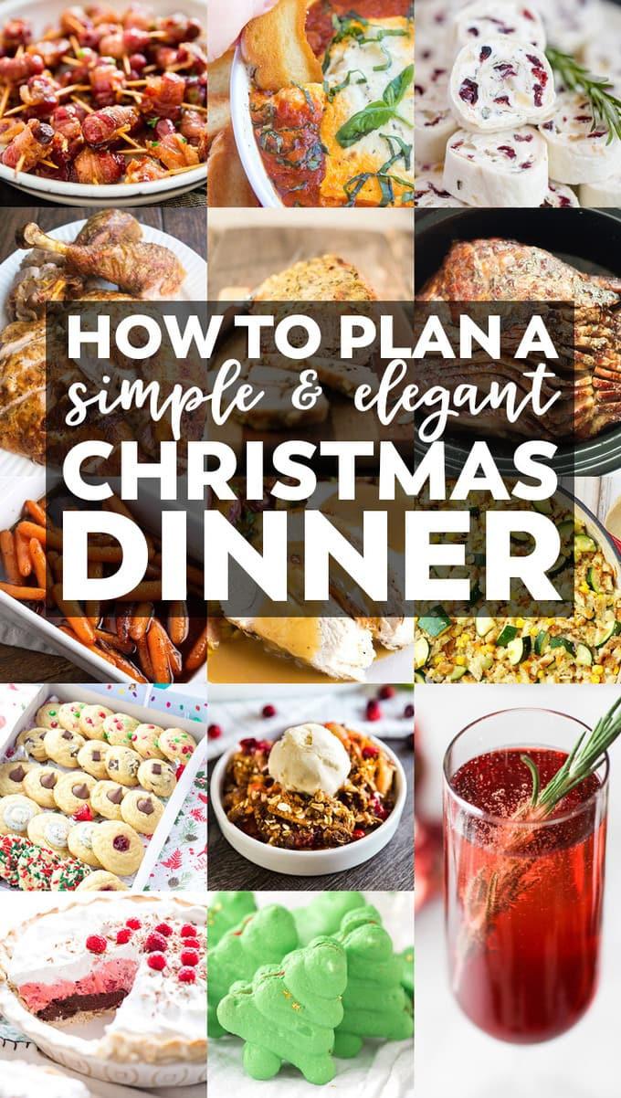 Easy Christmas Eve Dinners  How to Plan a Simple & Elegant Christmas Dinner Menu