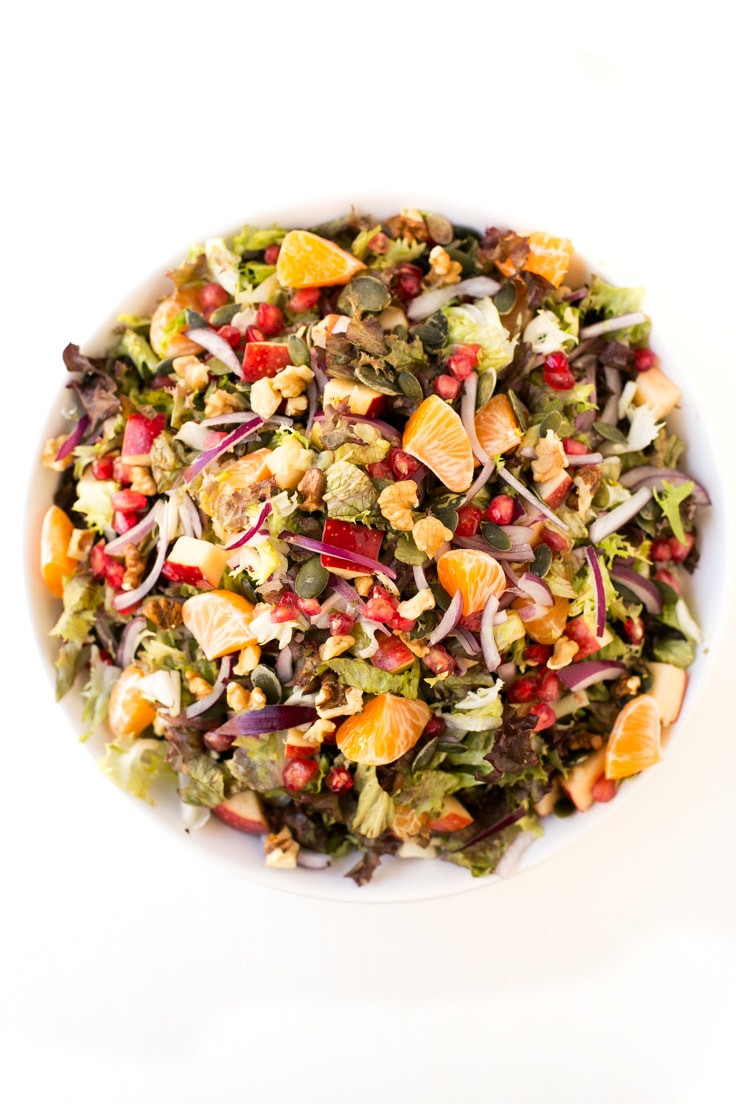 Easy Christmas Salads  Vegan Christmas Salad Simple Vegan Blog