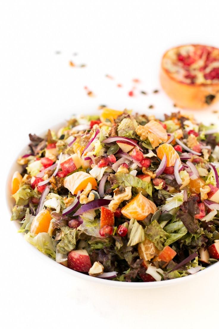 Easy Christmas Salads  Vegan Christmas Salad