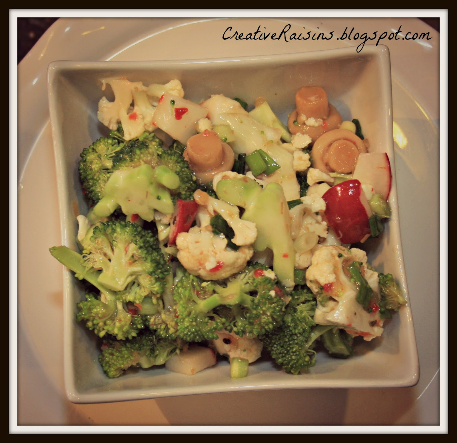 Easy Christmas Salads  Creative Raisins Quick and Easy Christmas Dinner Salad