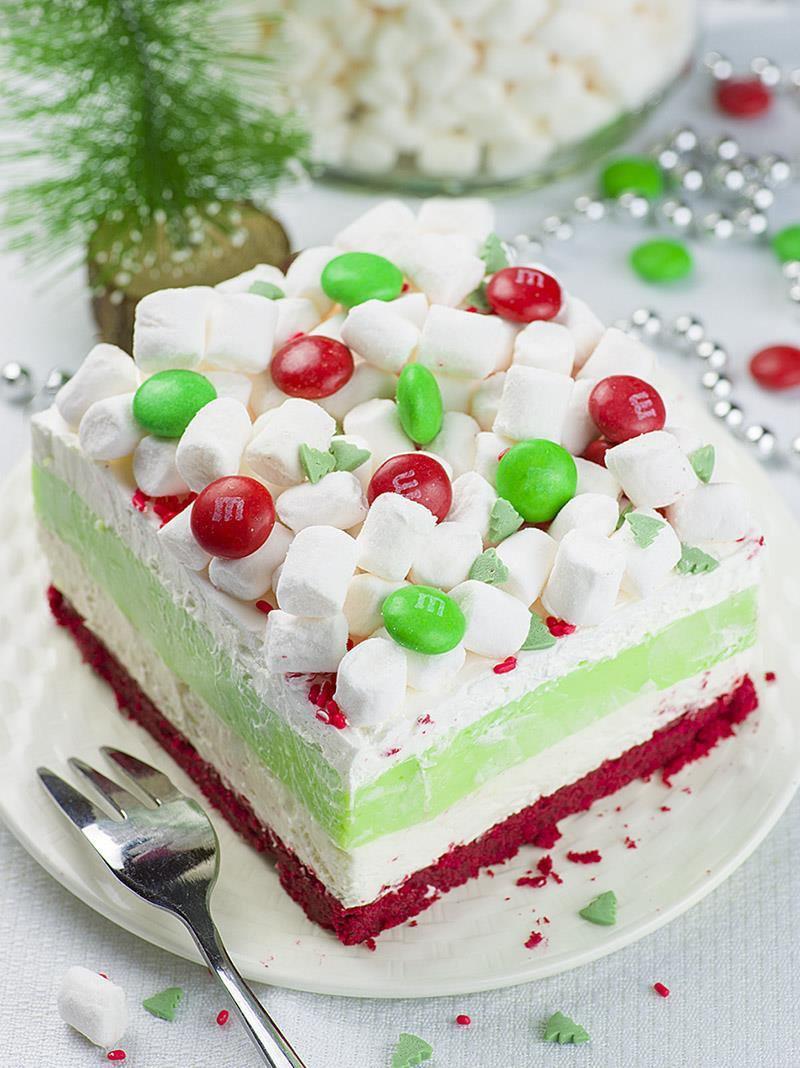 Easy Desserts For Christmas  Christmas Lasagna OMG Chocolate Desserts