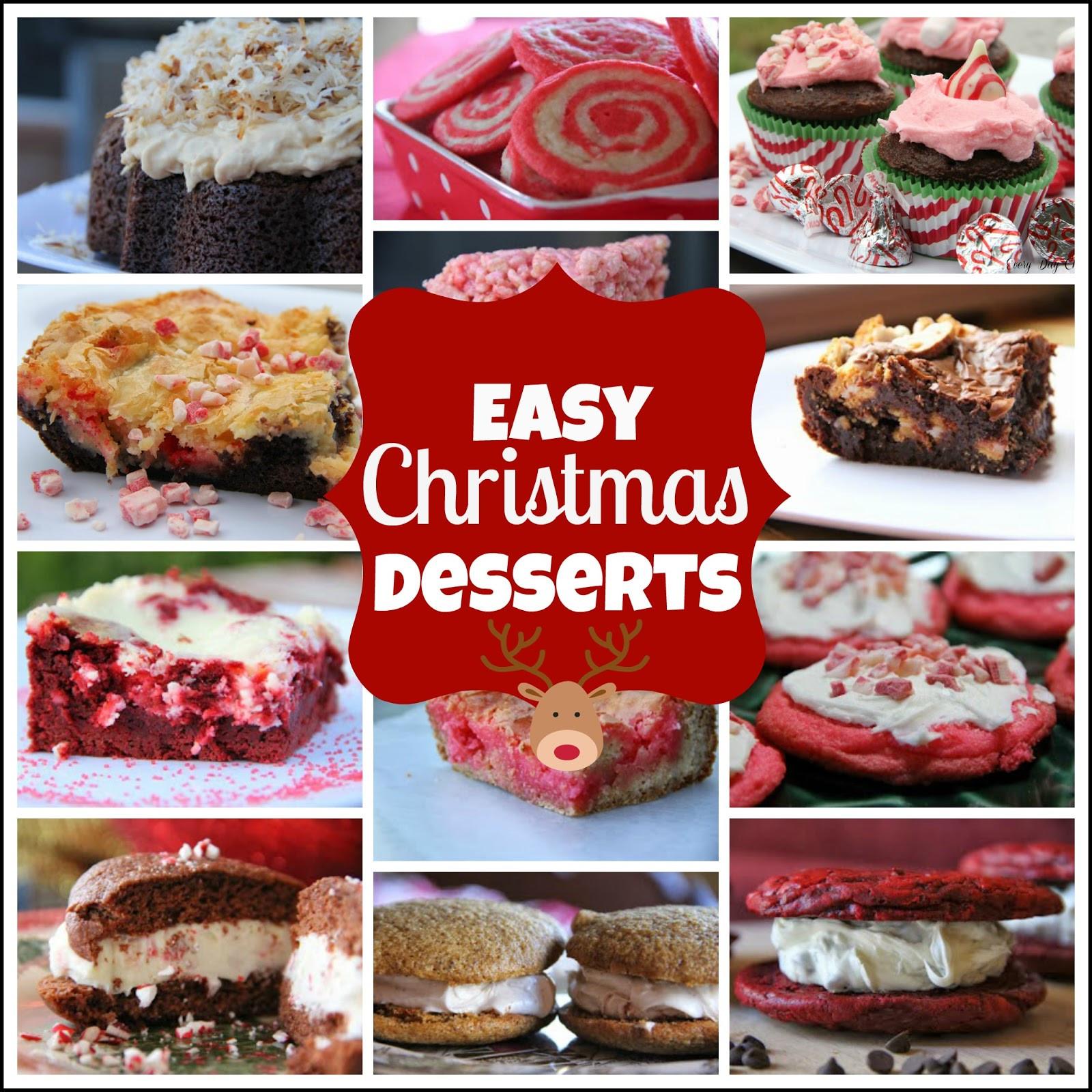 Easy Desserts For Christmas  Easy Christmas Desserts