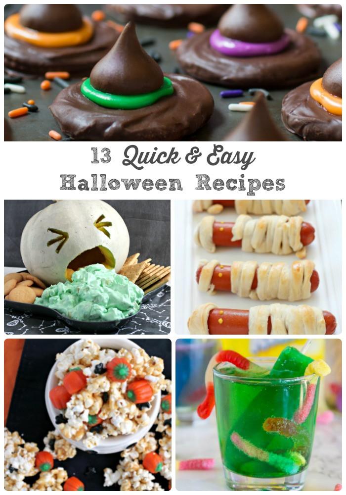 Easy Halloween Desserts Ideas  Frugal Foo Mama 13 Quick & Easy Last Minute Halloween
