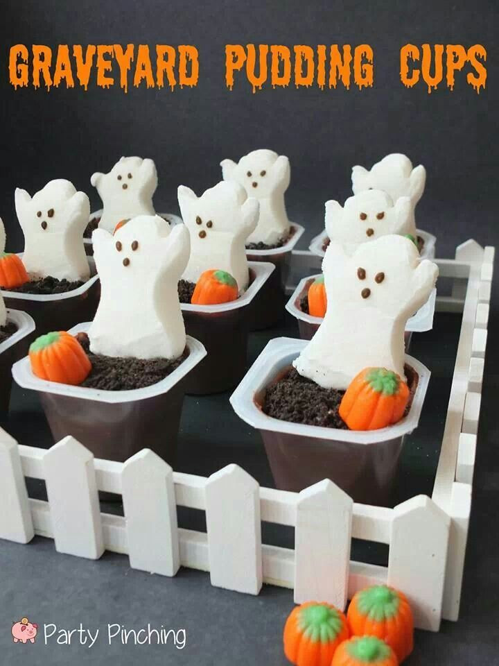 Easy Halloween Desserts Ideas  Halloween Classroom Crafts & Treats