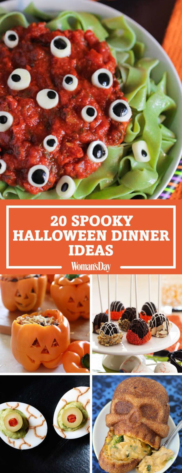 Easy Halloween Dinners  25 Spooky Halloween Dinner Ideas