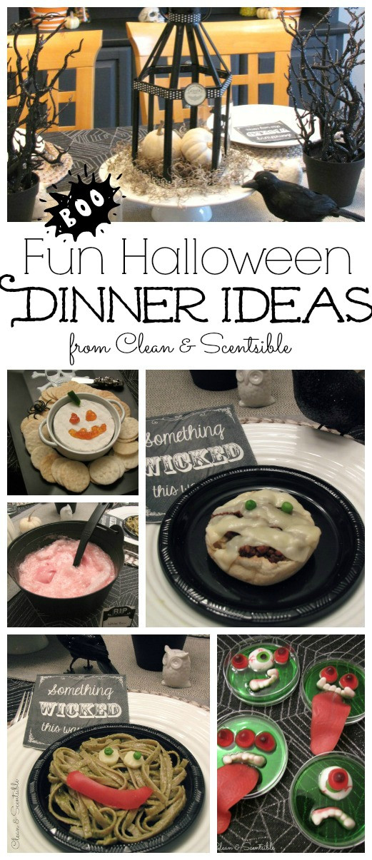 Easy Halloween Dinners  Fun Halloween Dinner Ideas