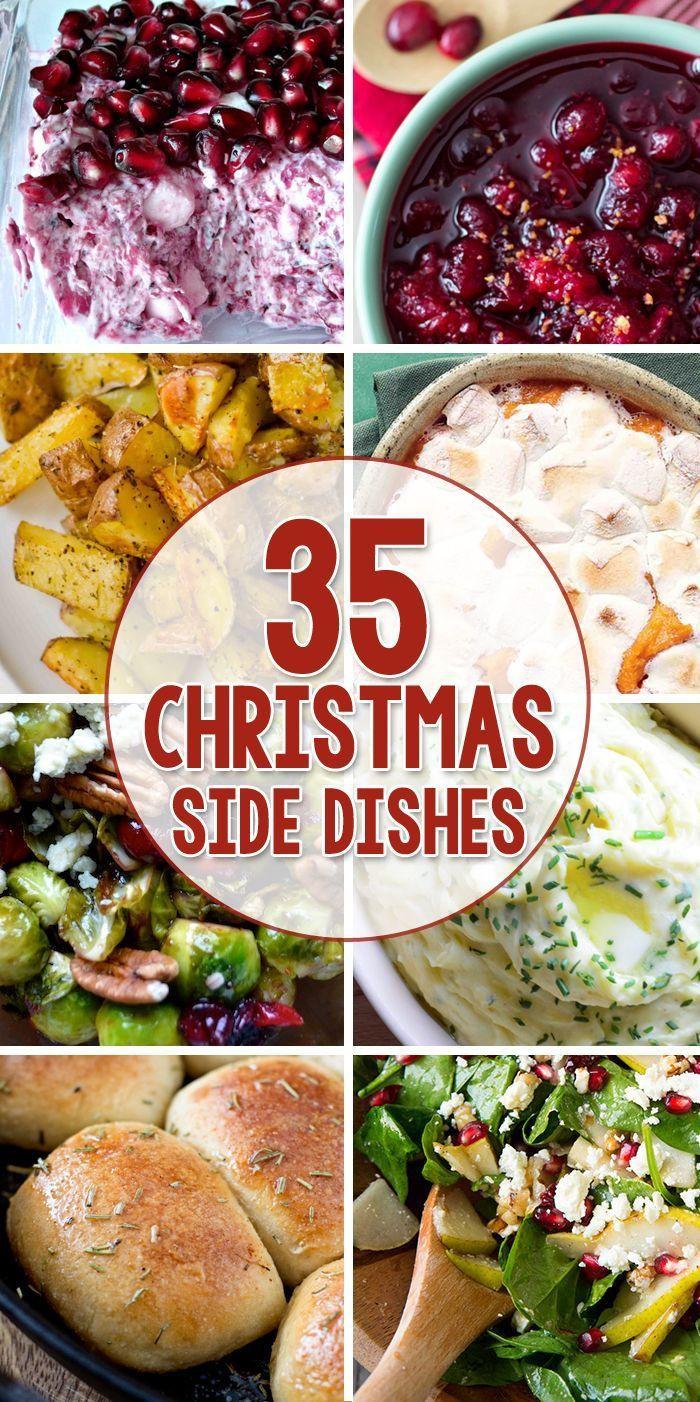 Easy Side Dishes For Christmas  100 Christmas Dinner Recipes on Pinterest