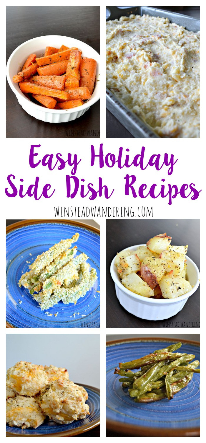 Easy Side Dishes For Christmas  Easy Holiday Side Dish Recipes