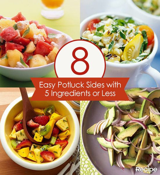 Easy Side Dishes For Christmas Potluck  17 Best images about Potlucks & Picnics on Pinterest