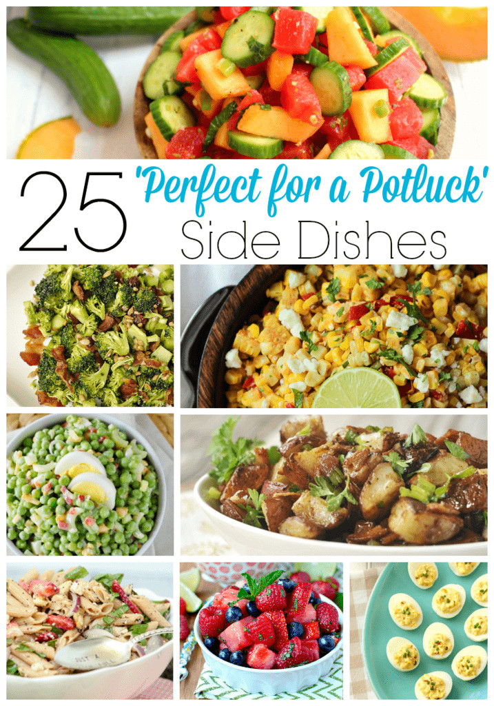 Easy Side Dishes For Christmas Potluck  25 Perfect for a Potluck Side Dishes Your Homebased Mom