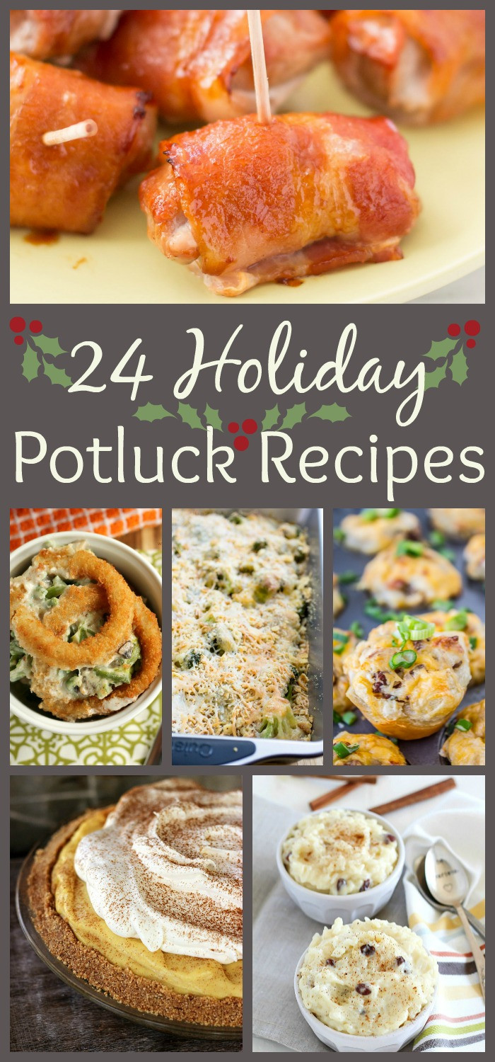 Easy Side Dishes For Christmas Potluck  24 Holiday Potluck Recipes to Wow the Crowd The Weary Chef