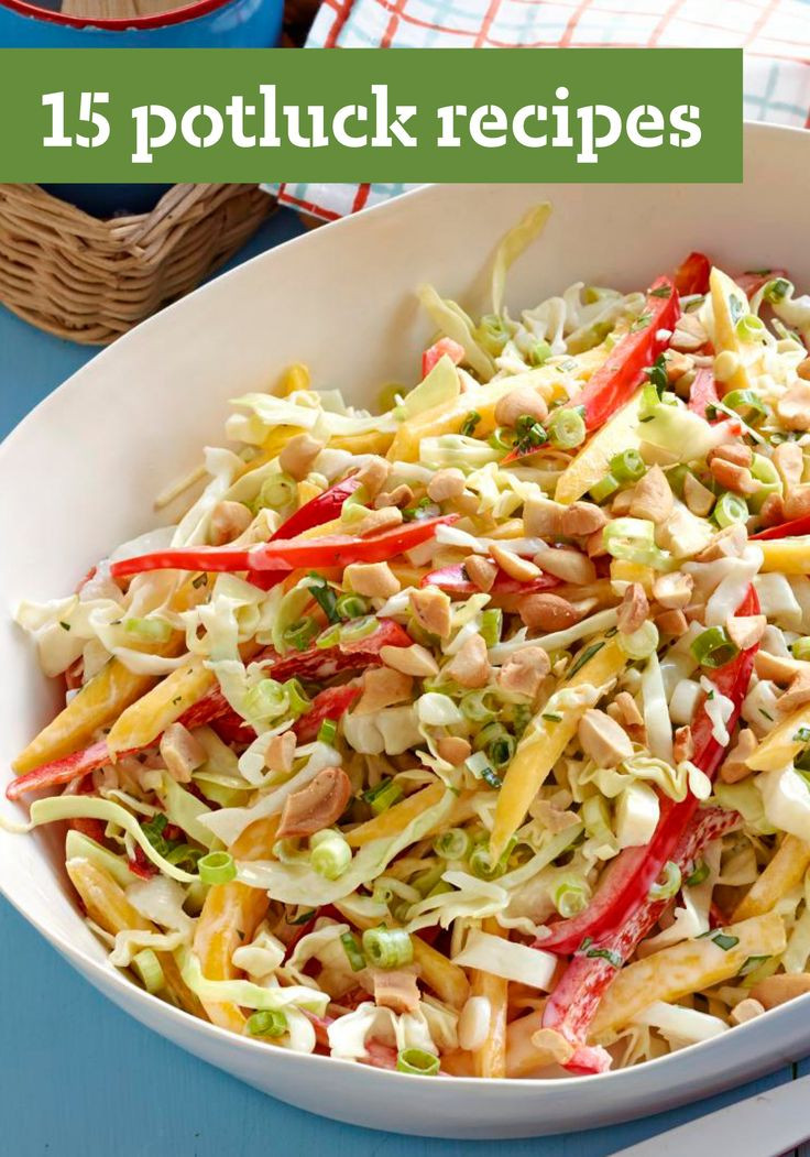 Easy Side Dishes For Christmas Potluck  15 Potluck Recipes Don t be surprised if you find