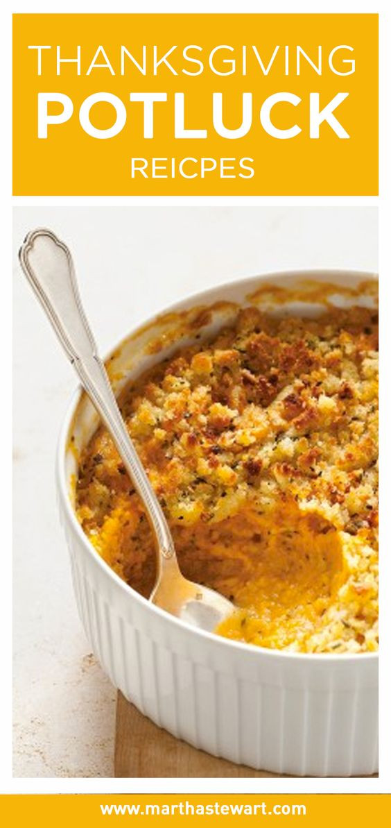 Easy Side Dishes For Christmas Potluck  Thanksgiving Potluck Recipes Pinterest