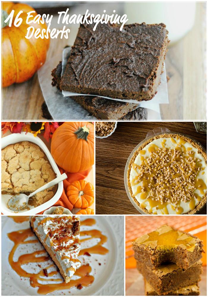 Easy Thanksgiving Pie Recipes  Easy Thanksgiving Dessert Recipes – April Golightly