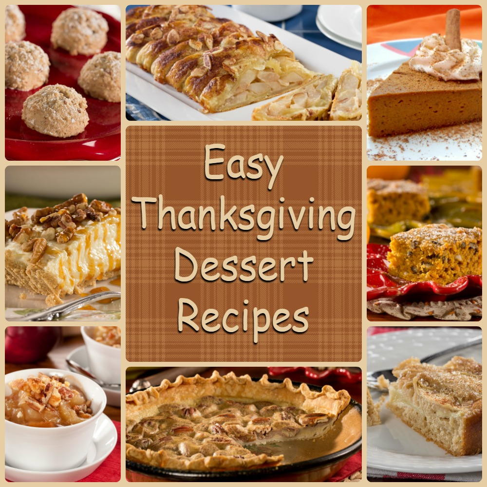 Easy Thanksgiving Pie Recipes  Diabetic Thanksgiving Desserts 8 Easy Thanksgiving
