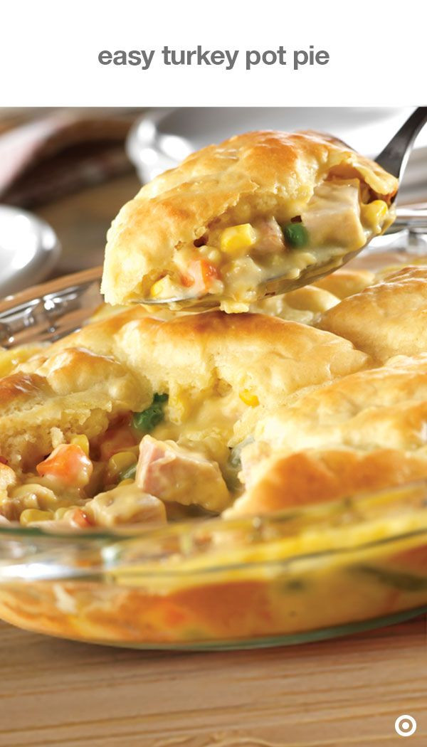 Easy Thanksgiving Pie Recipes  Your leftovers have achieved liftoff with this easy turkey
