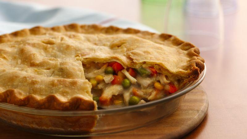 Easy Thanksgiving Pie Recipes  Classic Turkey Pot Pie Recipe Pillsbury
