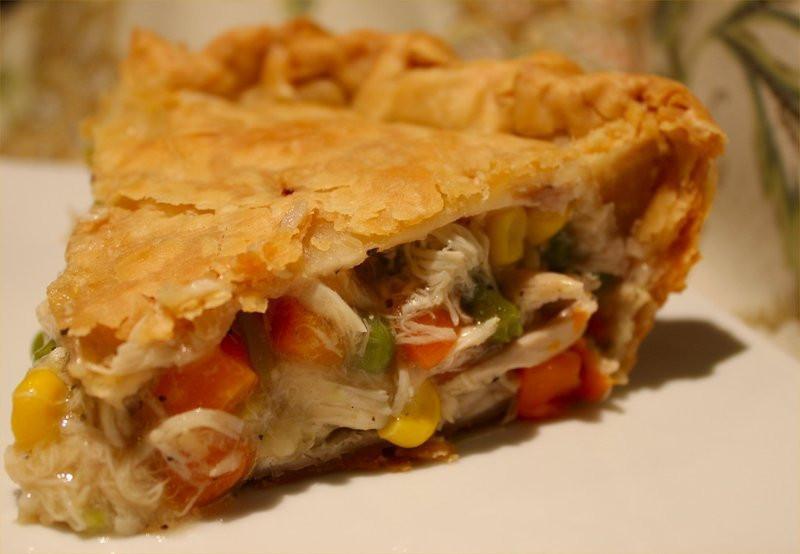 Easy Thanksgiving Pie Recipes  Easy Turkey or Chicken Pot PIe Recipe by Deborrah
