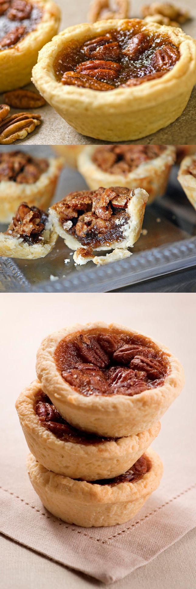 Easy Thanksgiving Pie Recipes  Granny's Mini Pecan Pie Tarts