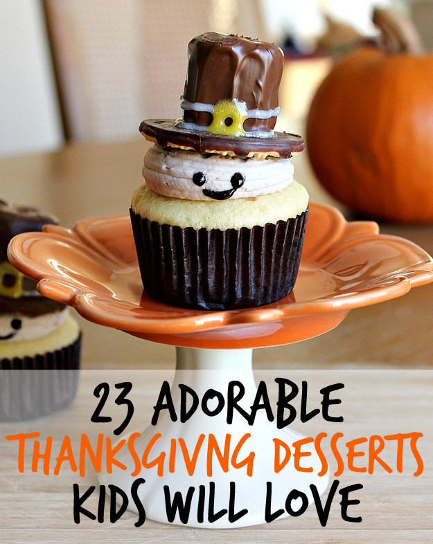 Easy Thanksgiving Pies  23 Fun And Festive Thanksgiving Desserts That Kids Will Love