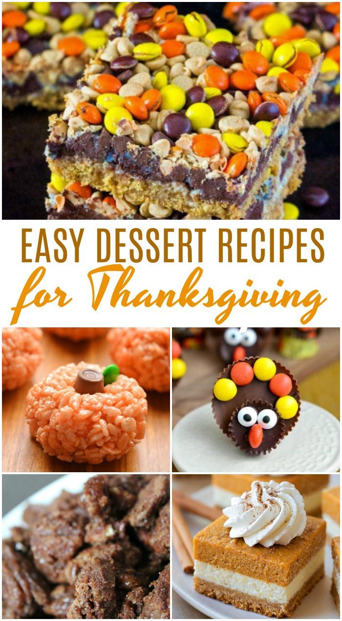 Easy Thanksgiving Pies  Amazing Thanksgiving Dessert Recipes