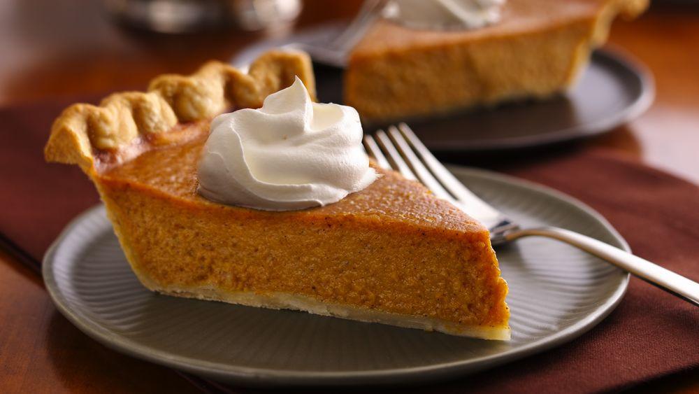 Easy Thanksgiving Pies  Easy Pumpkin Pie recipe from Pillsbury