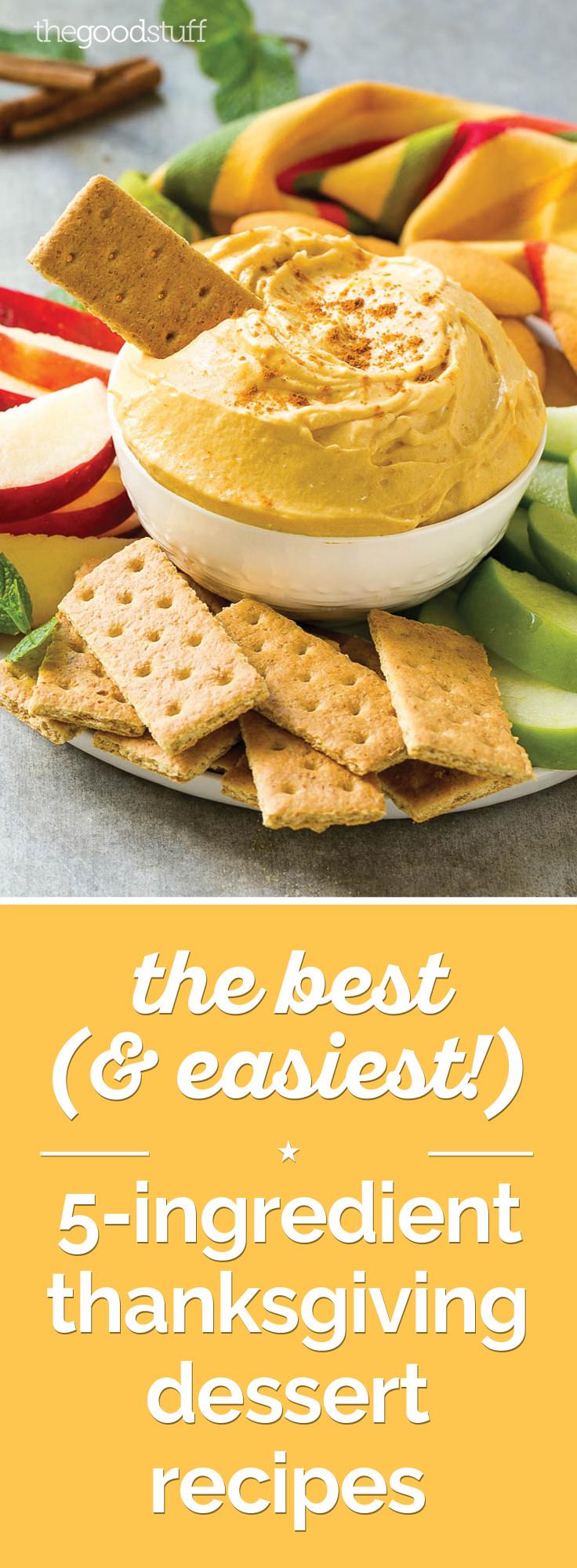Easy Thanksgiving Pies  The Best & Easiest 5 Ingre nt Thanksgiving Dessert