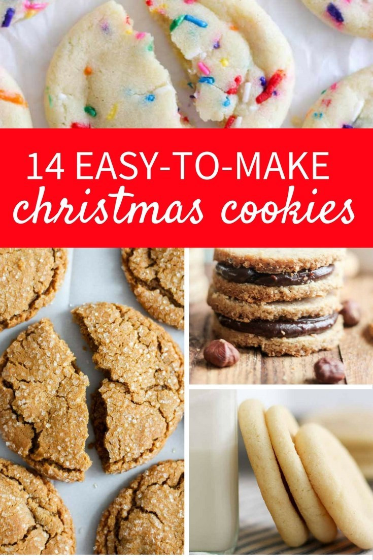 Easy To Make Christmas Cookies  14 Easy to Make Christmas Cookies