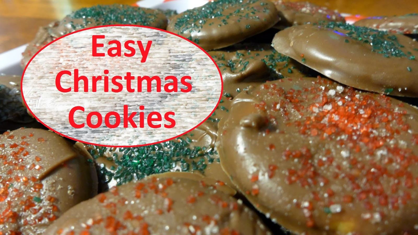 Easy To Make Christmas Cookies  EasyMeWorld How To Make Easy Christmas Cookies