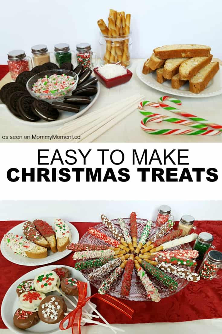 Easy To Make Christmas Desserts  Easy No Bake Christmas Treats