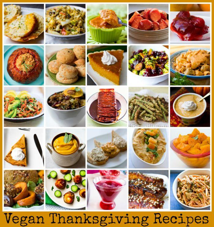 Easy Vegan Thanksgiving Recipes  Vegan Thanksgiving Recipes Recipes
