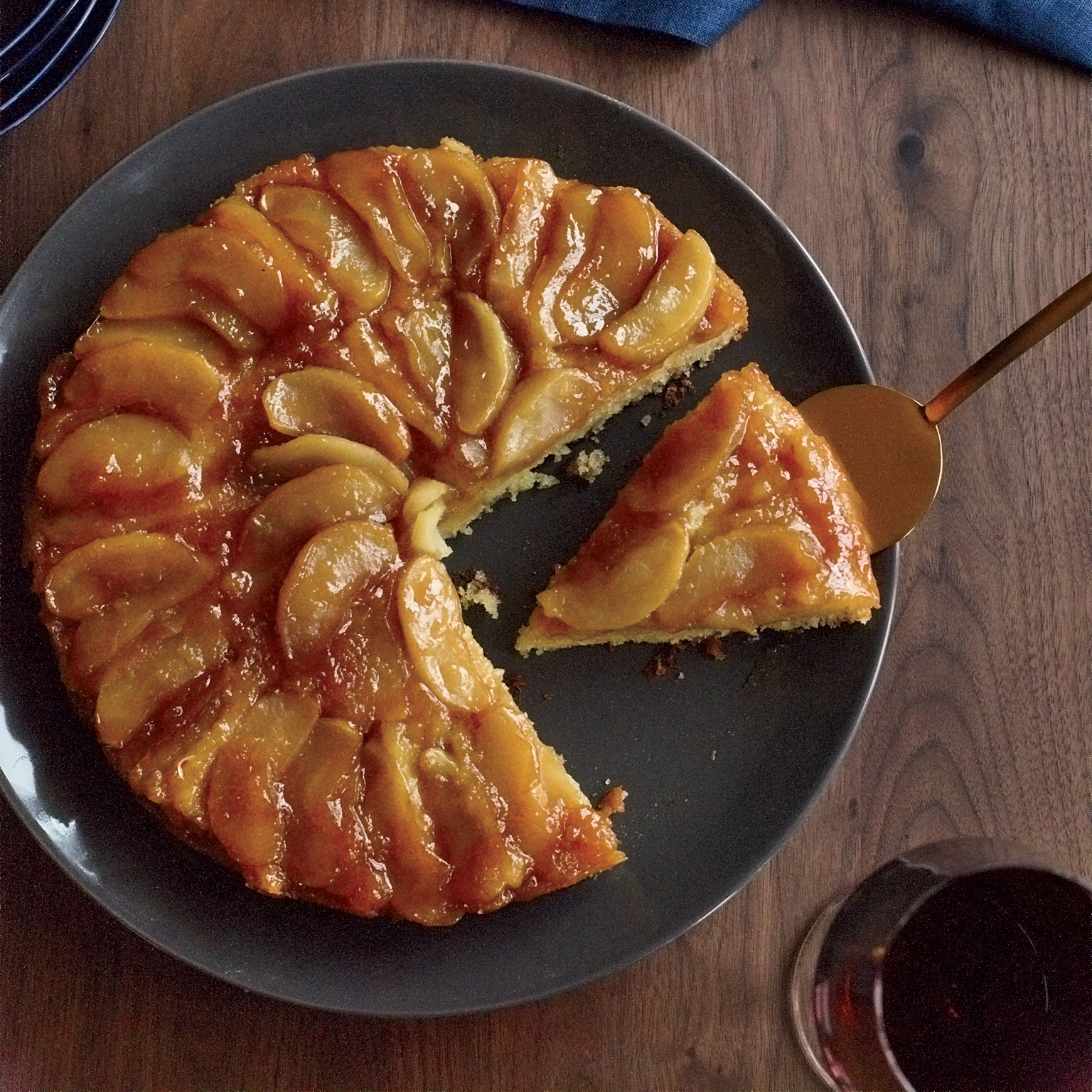 Fall Apple Recipes  Maple Apple Upside Down Cake Recipe Joanne Chang