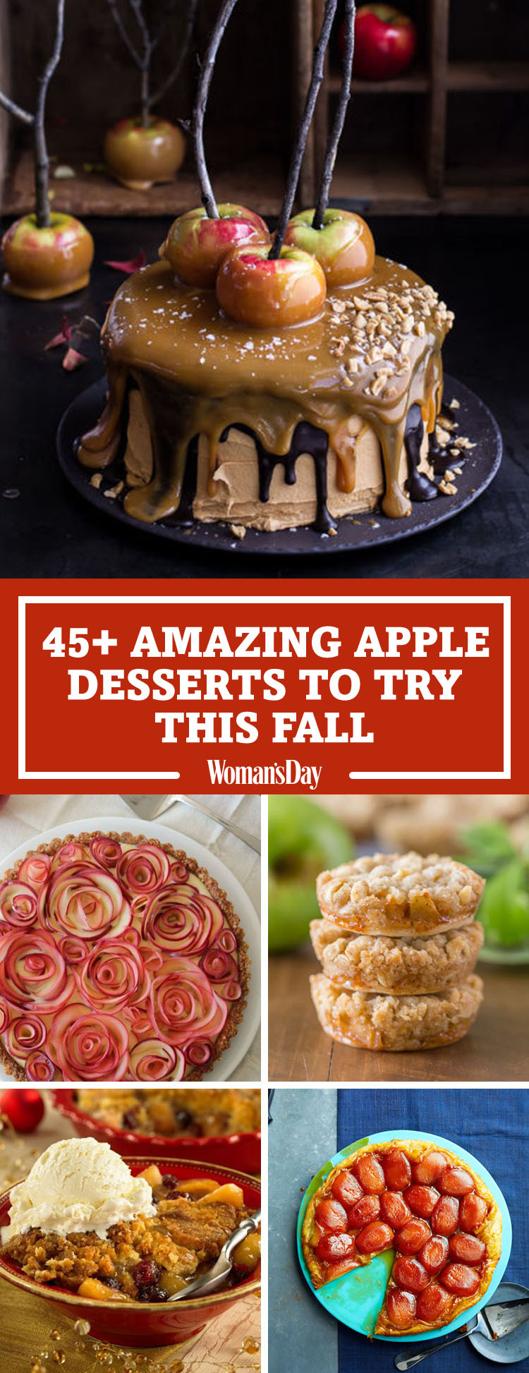 Fall Apple Recipes  50 Easy Apple Desserts for Fall Best Recipes for Apple