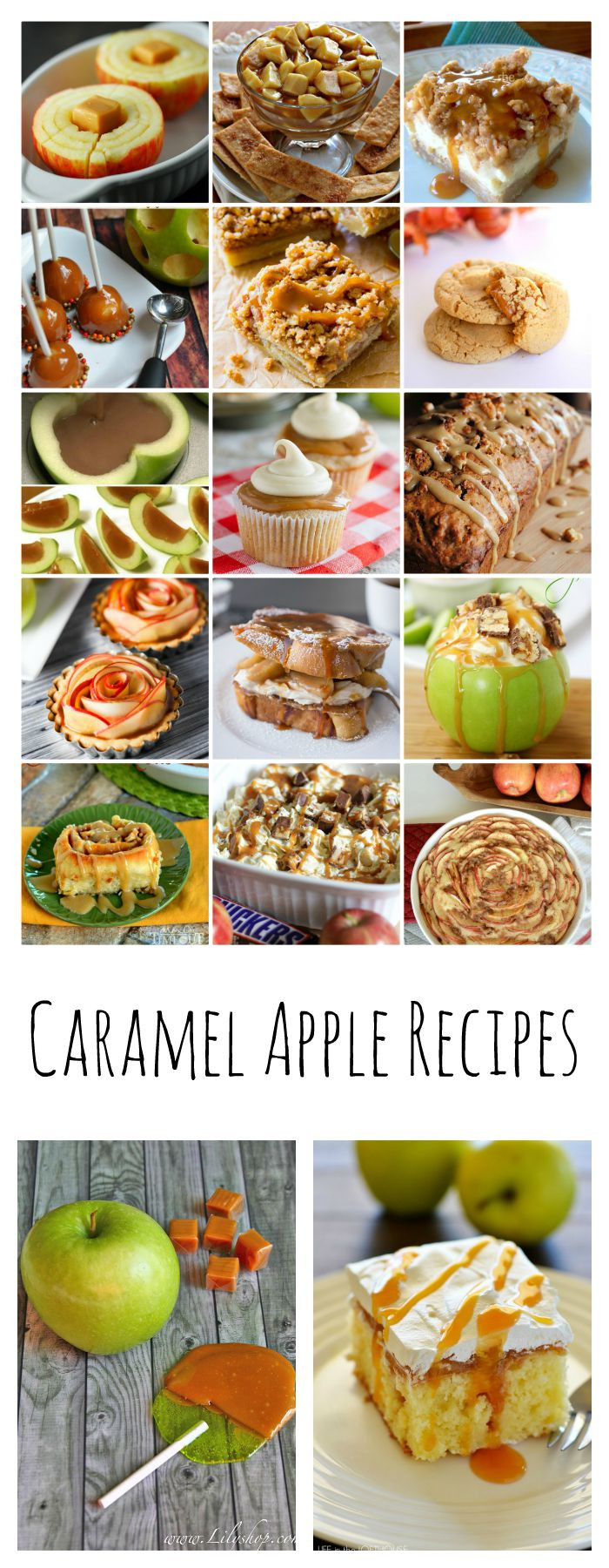 Fall Apple Recipes  Caramel Apple Recipes The Idea Room