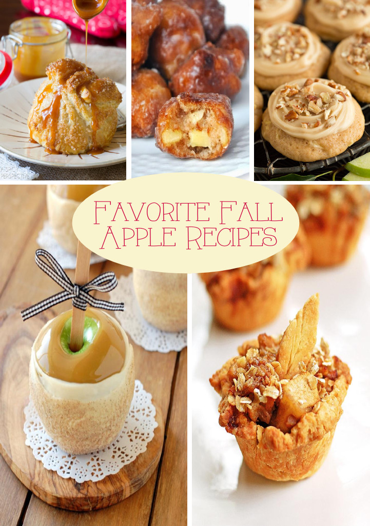 Fall Apple Recipes  Favorite Fall Apple Recipes
