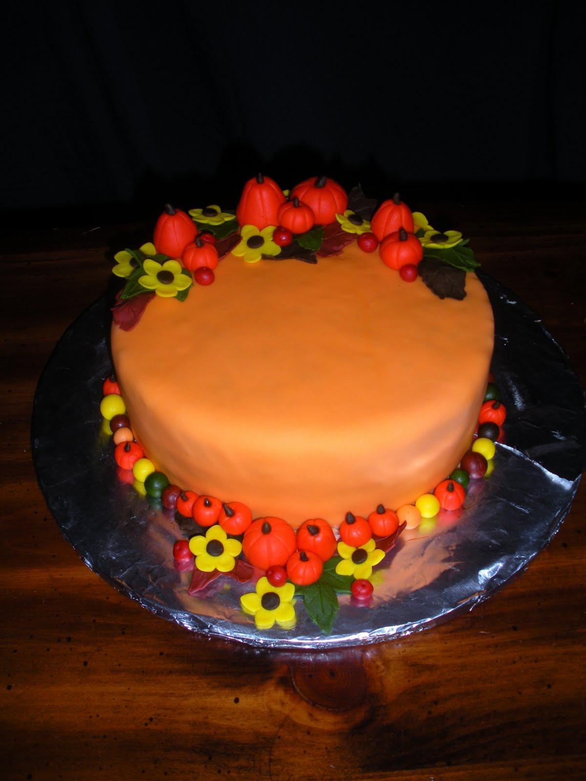 Fall Birthday Cake  Beachy Cakes Fall Birthday Cake