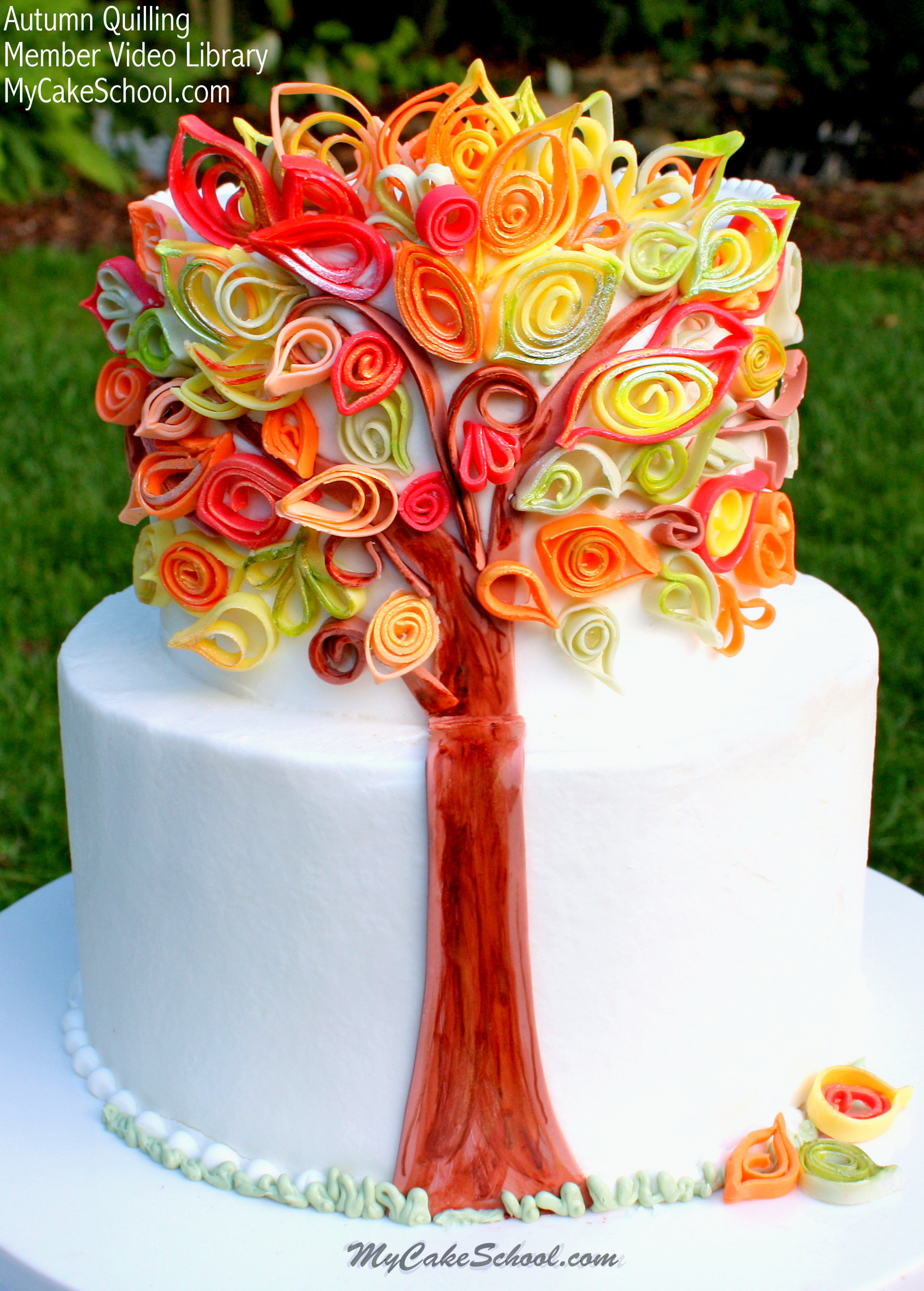 Fall Birthday Cake  Our Most Favorite Fall and Thanksgiving Cakes & Designs
