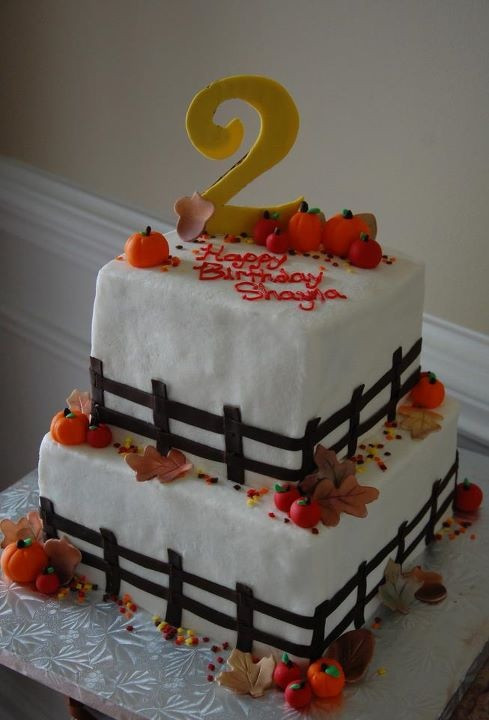 Fall Birthday Cake  Best 25 Fall birthday cakes ideas on Pinterest