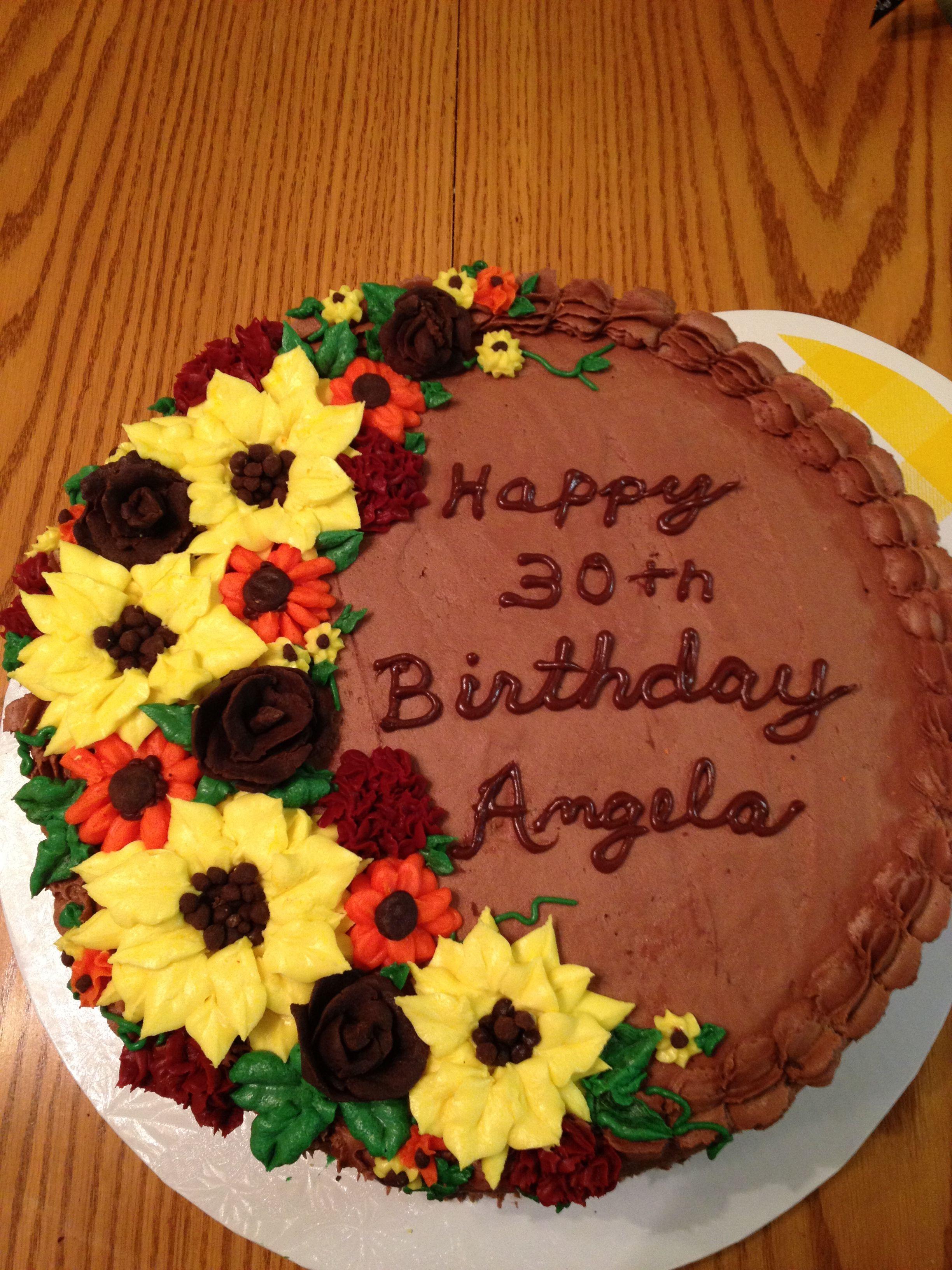 Fall Birthday Cake  Fall birthday cake Baking Must Try