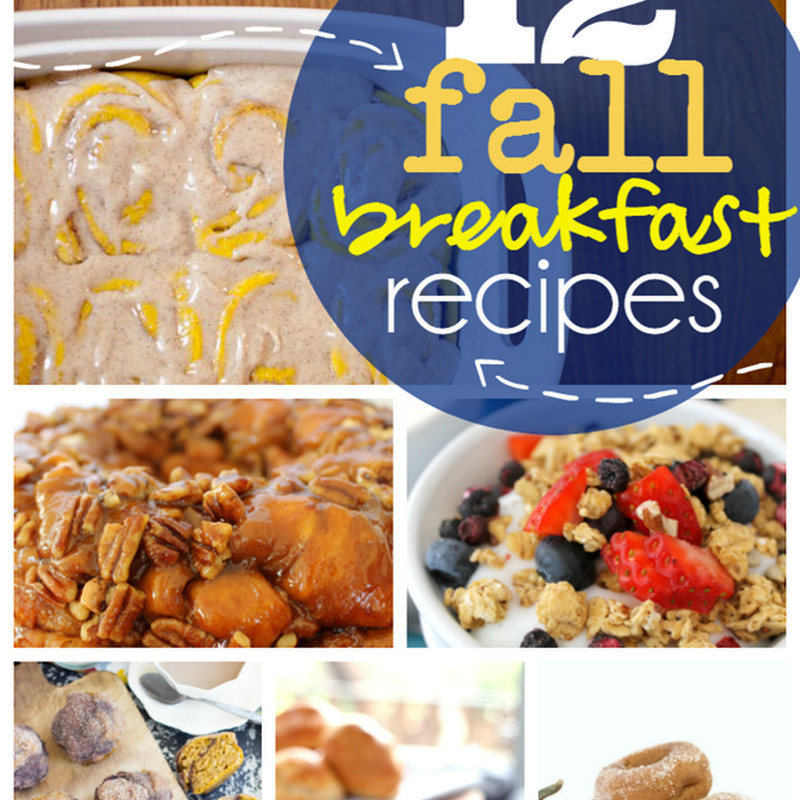 Fall Breakfast Recipes  Sew and the City Home Made Craft Labels