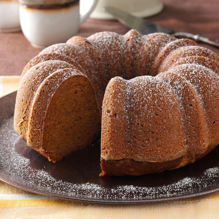 Fall Bundt Cake Recipes  25 best ideas about Pumpkin bundt cake on Pinterest