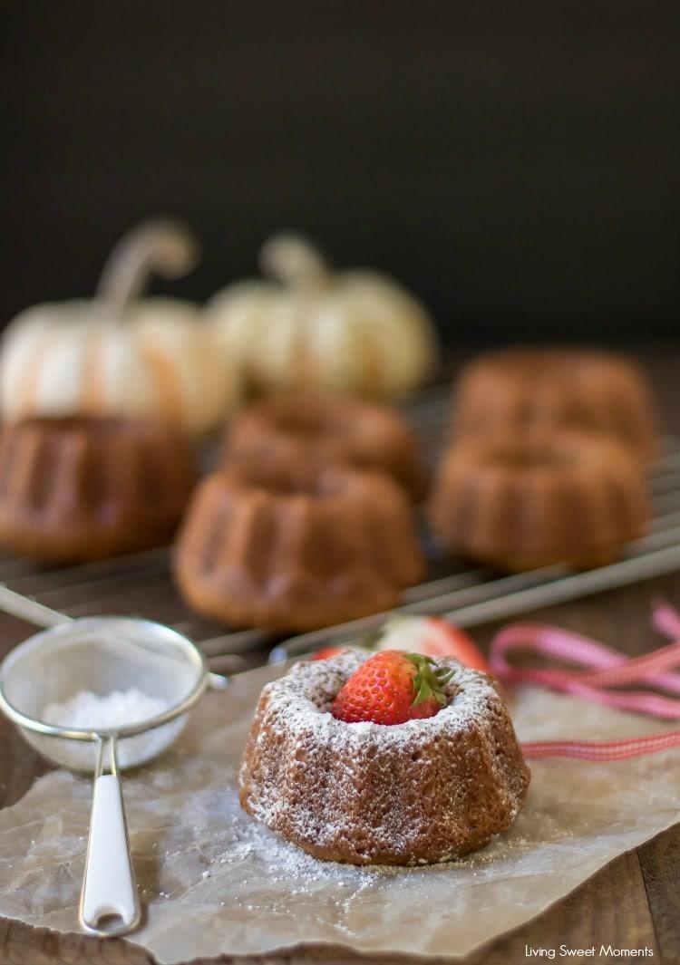 Fall Bundt Cake Recipes  Mini Pumpkin Bundt Cake Recipe Living Sweet Moments