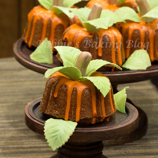 Fall Bundt Cake Recipes  Just in Time for Autumn Mini Pumpkin Bundt Cakes