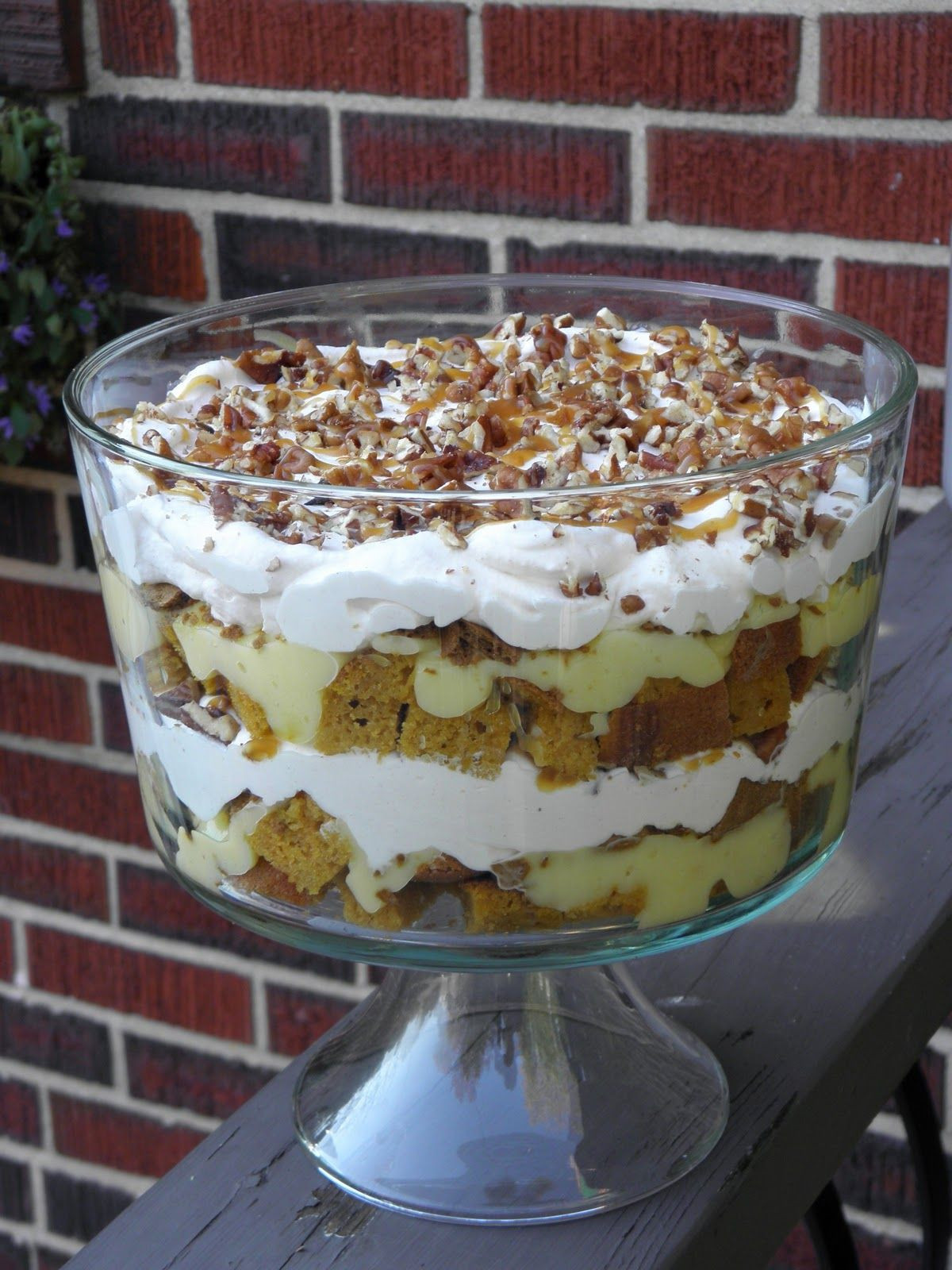 Fall Desserts 2019  Fall Harvest Trifle sweets in 2019