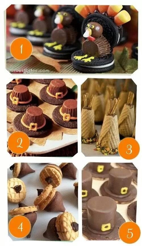 Fall Desserts For Kids  DIY Thanksgiving Treats s and for