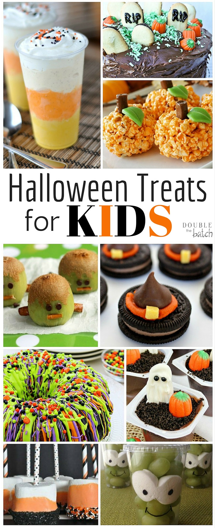 Fall Desserts For Kids  Fun Halloween Treats for Kids Double the Batch